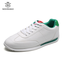 Classic Men's Casual Shoes Student Fashion White Sneakers fo