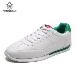 Dos homens clássicos Sapatos Casuais Estudante de Moda Tênis Branco para Os Amantes do Tamanho 35-44 Confortável Leve Tênis Sapatas Dos Homens verão