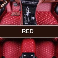 Hot sale Custom 3D car floor Foot mat For Ferrari 458 F430 Portofino etc waterproof PU leather carpet car inter accessories