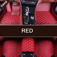 Hot sale Custom 3D car floor Foot mat For Ferrari 458 F430 Portofino etc waterproof PU leather carpet car inter accessories