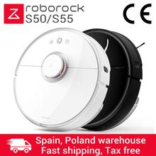 Odkurzacz Mopujący Xiaomi Vacuum Roborock S50 Robot sprzątający MI #8211 2 GEN Lieferung aus Polen per DHL tanie tanio 40 w 24 v Na sucho i mokro S50 S55
