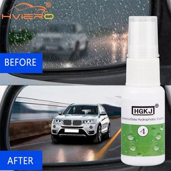 Ceramic Glass Nano Hydrophobic Coating Anti-rain Agent 20/50ml Windshield Rainproof Agent Spray Car Remover Polish Accessories 30ml hardness 10h super hydrophobic car glass coating car liquid coat paint care durability anti corrosion coating set