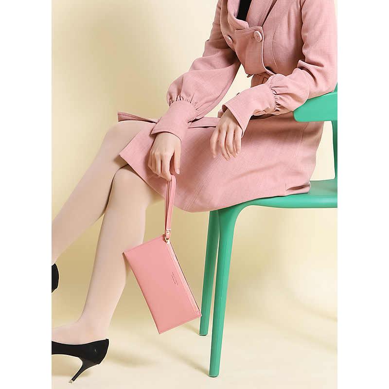 グジュアリーブランドリストバンドクラッチ財布女性カードホルダー携帯電話コインポケット女性財布ファッションロング財布 Carteira 高品質