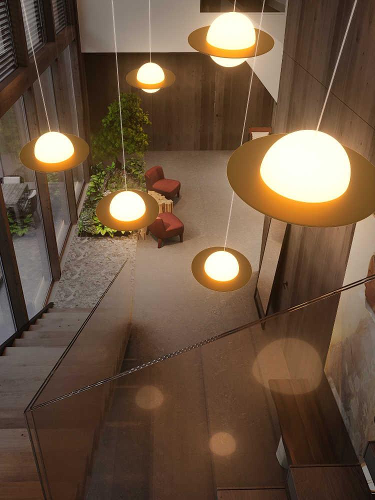 الدرج طويل الثريا الحديثة الحد الأدنى فيلا الثريا الشمال الإبداعية تحلق الصحن المعيشة غرفة فندق الدورية دوبلكس