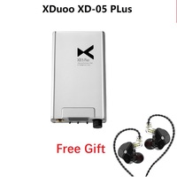 New XDuoo XD 05 PLus Upgrade Portable Amplifier Audio DAC DSD256 Headphone Amp 32Bit/384 KHz Support USB Dual Interchangeable