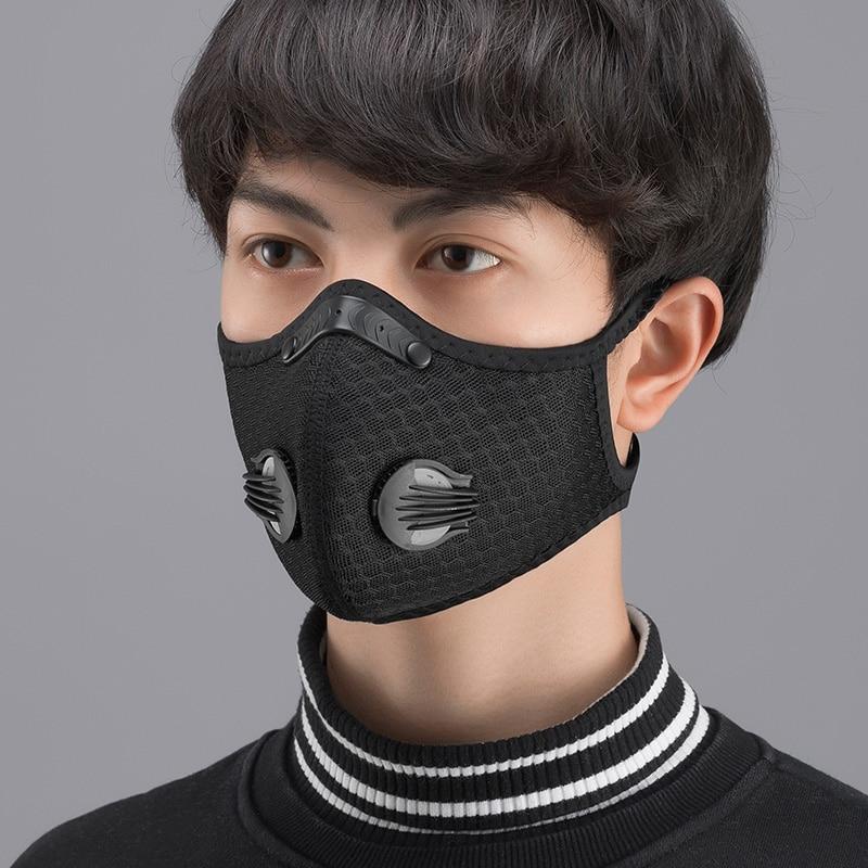 masque running anti pollution