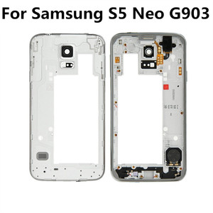 Original Middle Frame Bezel Chassis Housing for Samsung Galaxy S5 Neo G903 G903F middle frame