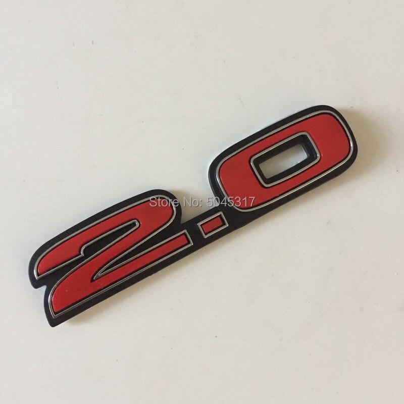 2 Stück Auto Car Emblem Abzeichen Aufkleber Sticker Für