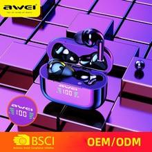 AWEI T29 True Wireless Earbuds Bluetooth 5.0 con Mic Touch Control suono Stereo IPX4 impermeabile per tutti i tipi di telefoni