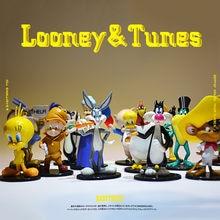 16 peça 7-8cm looney tunes bugs bunny coleção decoração para casa figura brinquedos