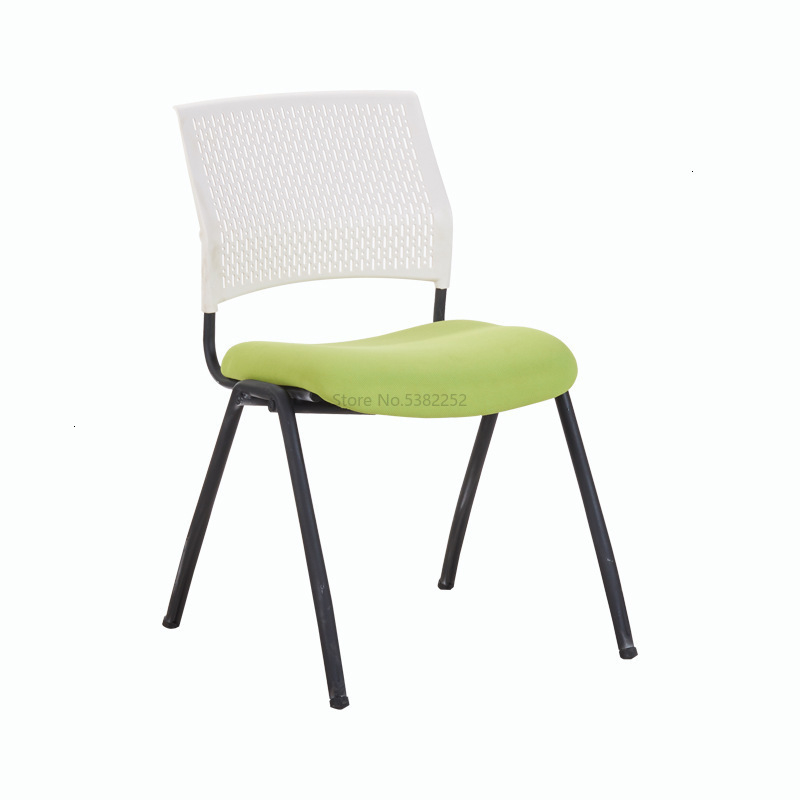 Leisure Time Chair Train Chair Staff Member Chair Meeting Steel Foot Chair Screen Cloth Modern Concise Screen Cloth Chair