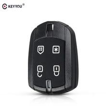Keyyou 10 pçs/lote estilo do carro 4 botão remoto escudo da chave do carro para fx330 controle positron alarme carro chave brasil