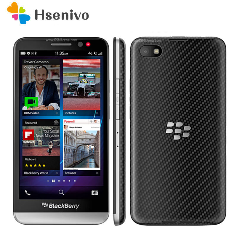 Original Unlocked BlackBerry Z30 Mobile Phone Dual core 4G WiFi 8MP 5.0