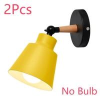 yellow NO Bulb 2Pcs