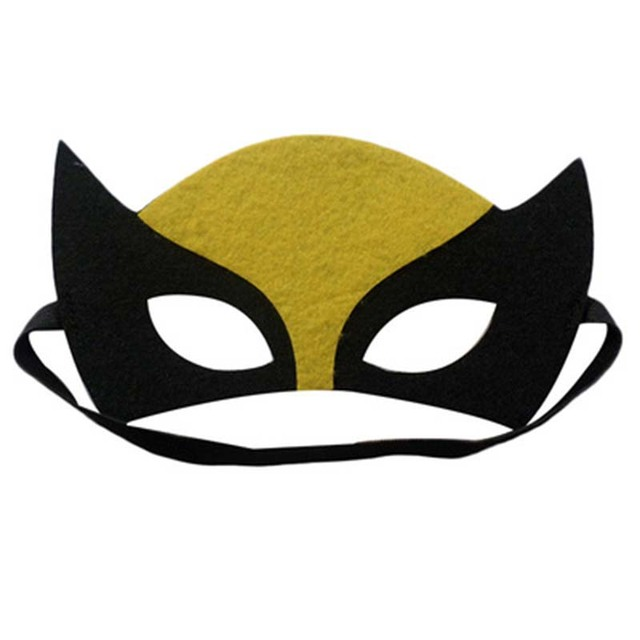 2020 Superhero Cosplay Masks Halloween Party Dress Up Costume Mask Kids Adult Birthday Party Favor Gifts Supplies 5