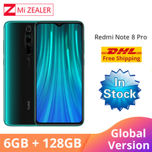 In Stock!!! Global Version  Xiaomi Redmi Note 8 Pro 6GB RAM 128GB ROM MTK Helio G90T 6.53