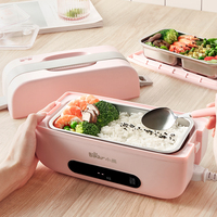 Portable Electric Lunch Box Rice Cooker Office Worker Student Automatic Heating Insulation Reservation Vacuum Seal