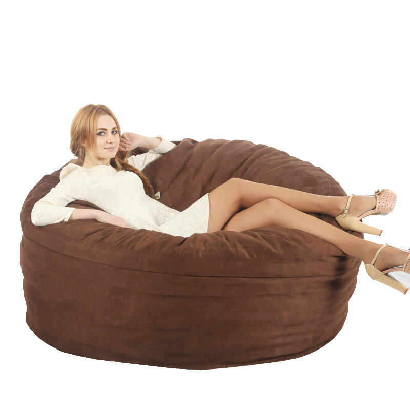 Bean Bag Chair for Adult lazy bean bag COVER only supply,Not included filling