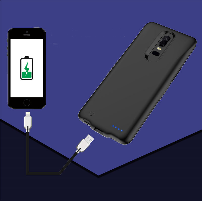 5000mAh Slim Battery Charger Case for Xiaomi PocoPhone F1 Power Bank Backup shockproof Back clip battery Charging Back Cover Pakistan