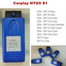 App1e Carplay Andr0id 자동 활성화 도구 메르세데스 벤츠 자동차 NTG5 S1 ntg5s1 OBD2