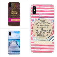 Special Offer Luxury For Huawei P7 P8 P9 P10 P20 P30 Lite Mini Plus Pro 2017 2018 2019 Stay Positive Life Quote Poster(China)