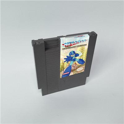 Mega Man In The Mushroom Kingoom - 72 Pins 8bit Game Cartridge