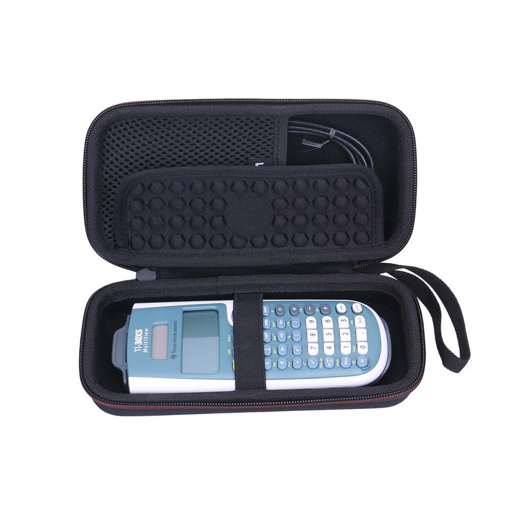 LTGEM EVA Waterproof Hard Case For Texas Instruments TI-30xs/TI-36x Pro Engineering Multiview Scientific Calculator