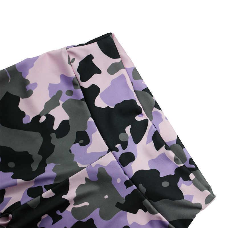 ฤดูร้อน 2020 ออกกำลังกาย Leggings แฟชั่นเสื้อผ้าผู้หญิงกีฬา Leggings เซ็กซี่ Overalls การบีบอัด Push Up Leggings โกธิคกางเกง