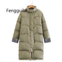 Big Size Winter Coat Female Parkas Thickening Cotton Overcoat Women Long Down Jacket Padded Warm Parkas Ladies Snow Coat Outwear стоимость