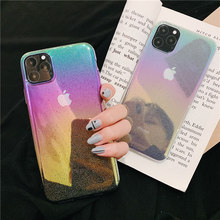 цена на Raindrop dots colorful for case iphone 11 pro max cover starry sky plating hard case cover for iphone 6 6s 8 7 plus xr x xs max