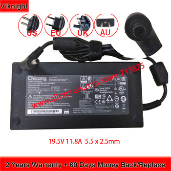 Genuine 19.5V 11.8A 230W 5.5 x 2.5mm A230A012L A12-230P1A A17-230P1A Chicony AC Adapter for Msi GS75 STEALTH-248 P65 GS65 chicony 19 5v 6 15a 120w a12 120p1a ac adapter for clevo w650sj w355st w35 37et msi gp70 2pe l ge60 ge70