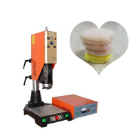Ultrasonic flocking powder puff / powder powder puff fusing molding machine CH S1526 multifunctional welding machine