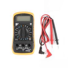 цена на DT830L LCD Digital Multimeter LCD Backlight AC/DC Ammeter Voltmeter Ohm Tester Meter Multimeter