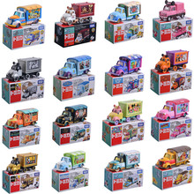TAKARA TOMY Cars Disney Pixar Toy Story Mickey Mouse Frozen 1:64 Diecast Metal Mini Truck Car Model Toys For Boys Girls Gifts