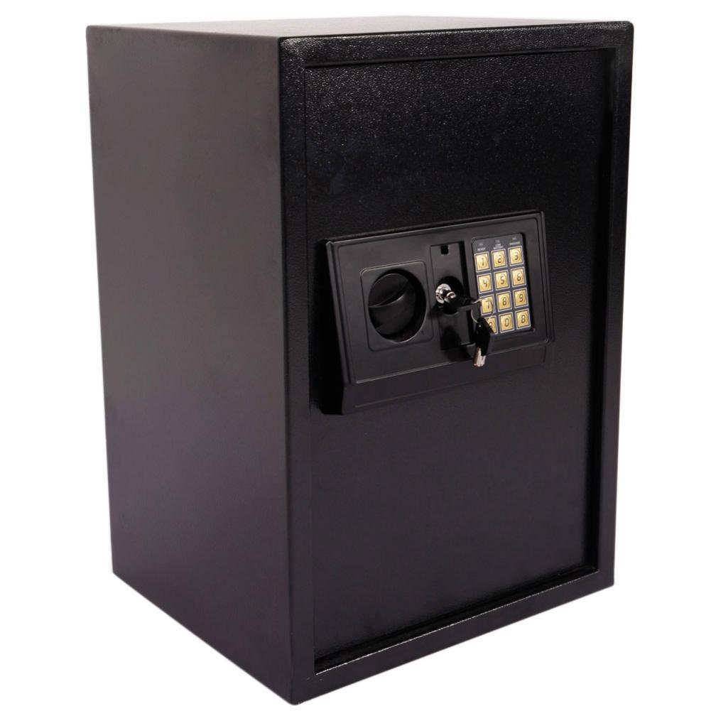 E50EA Electronic Password Safe Box For Home Protective Money Safty Box Steel Plate Safe Box 35.2 X 30.2 X 50.2cm Housing Case