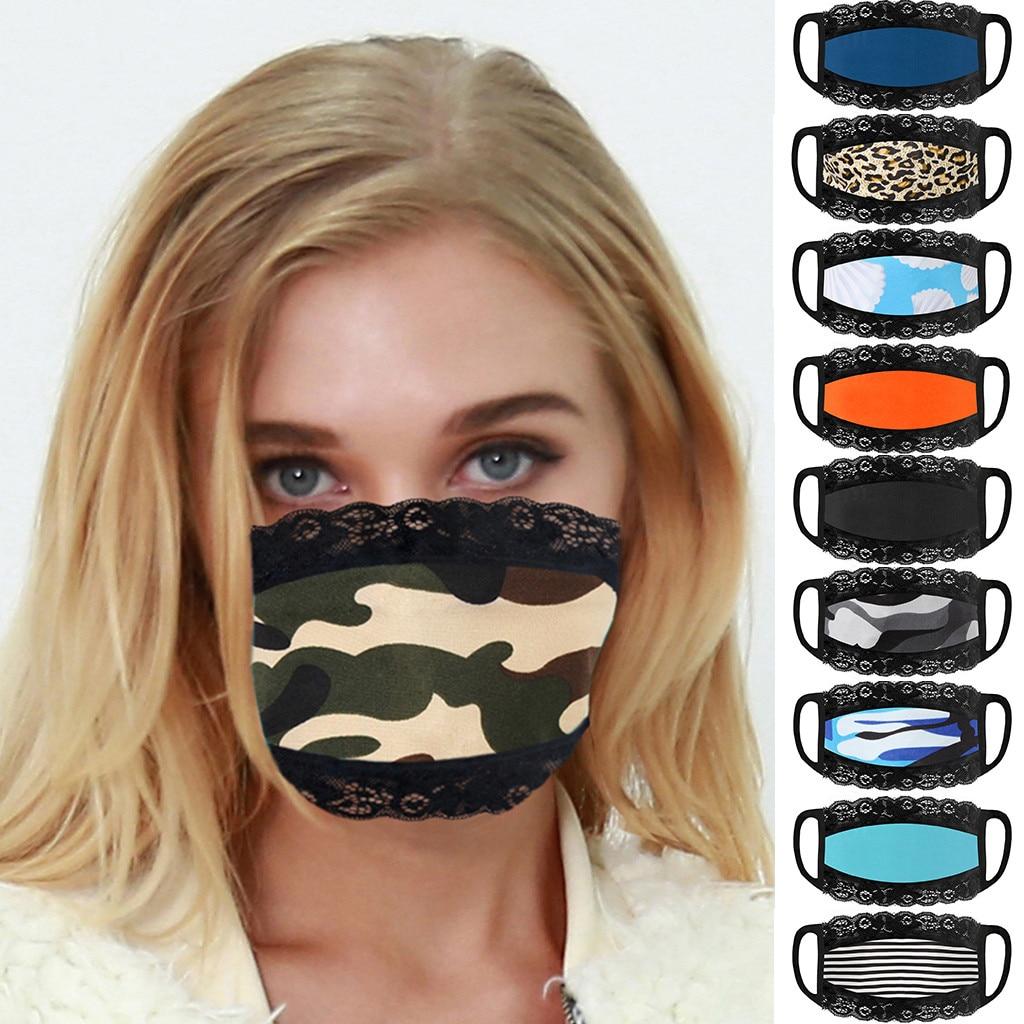 1 шт. модная маска для лица, хлопковая маска для лица, многоразовая 3-слойная маска с петлей для ушей, Пылезащитная маска для улицы mascarilla # H5