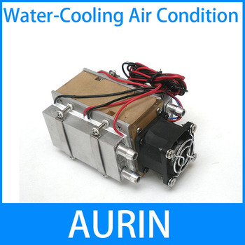 Free Shipping!DIY TEC Peltier semiconductor refrigerator water-cooling air condition Movement for refrigeration and fan