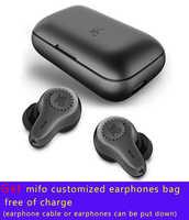 mifo O7 2BA Dual Driver APTX Bluetooth 5.0 True Wireless Earphones Sport Waterproof Touch Tws Earbuds Noise Reduction Headset