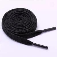 1 paire lacet plat populaire chaussures de sport lacets décontracté toile Polyester lacets couleur bonbon blanc noir vert lacet