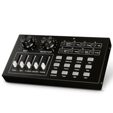 Stage audio equipment special effects mobile phone computer external live sound card K song concert voice change sound processor cher live in concert