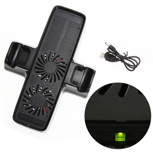 Image 4 - Game Console Cooler with Dual Holding Dock Gamepad Cooling Fan with Dual Dock Stand for XBOX 360 Game Controller