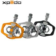 Bem estar xpedo xcf12ac pedal ultraleve, 295g, para bicicleta de montanha, com 3 rolamentos, liga de alta resistência, bicicleta mtb pedal de travamento