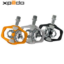 Wellgo Xpedo XCF12AC Ultralight 295g Mountain Bike Clipless Pedal with 3 Bearing High Strength alloy MTB bike self locking pedal