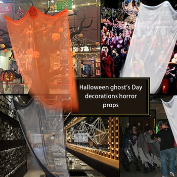 Halloween Ghost Festival Decoration Supplies Horror Props Bar Ktv Shopping Mall Supermarket Haunted House Hanging Ghost creepy halloween ghost props electric voice ghost doll toys horror halloween haunted house decoration party suppies kids gift
