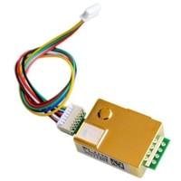 MH Z19 sensor infravermelho do gás do dióxido de carbono do módulo MH Z19B do sensor do co2 para o monitor 0 5000ppm mh z19b do co2|Sensor e detector|Segurança e Proteção -