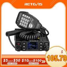 RETEVIS Radio bidireccional para coche RT95 200CH, 25W, alta potencia, VHF, UHF, móvil, Radio CHIRP Ham, transceptor de Radio móvil