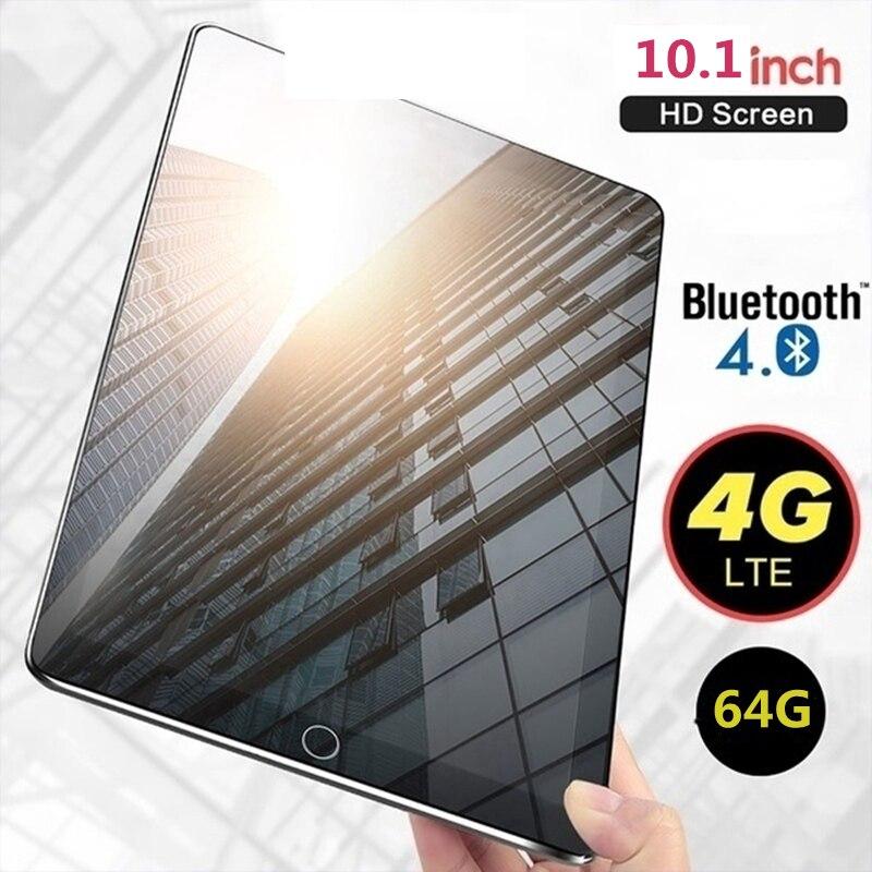 Nova WiFi Tablet PC 10.1 Polegada Dez Núcleo 4G Rede Android 7.1 Arge 2560*1600 IPS Tela Dupla SIM Dual Camera Traseira Andróides Tablet