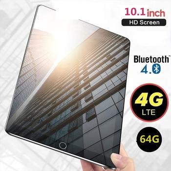 Nowe WiFi Tablet PC 10 1 Cal dziesięć rdzeń 4G sieć Android 7 1 Arge 2560*1600 ekran IPS podwójny SIM podwójny aparat tylny Androids Tablet tanie i dobre opinie DragonTouch Android 7 0 Ultra slim Rozpoznawanie linii papilarnych Nowy Karta sd Micro Usb 64GB Intel CoreM Niemiecki French