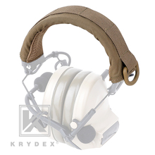 KRYDEX Tactical Headset Stand Protection Cover Modular Headband Earmuff Headphone Stand