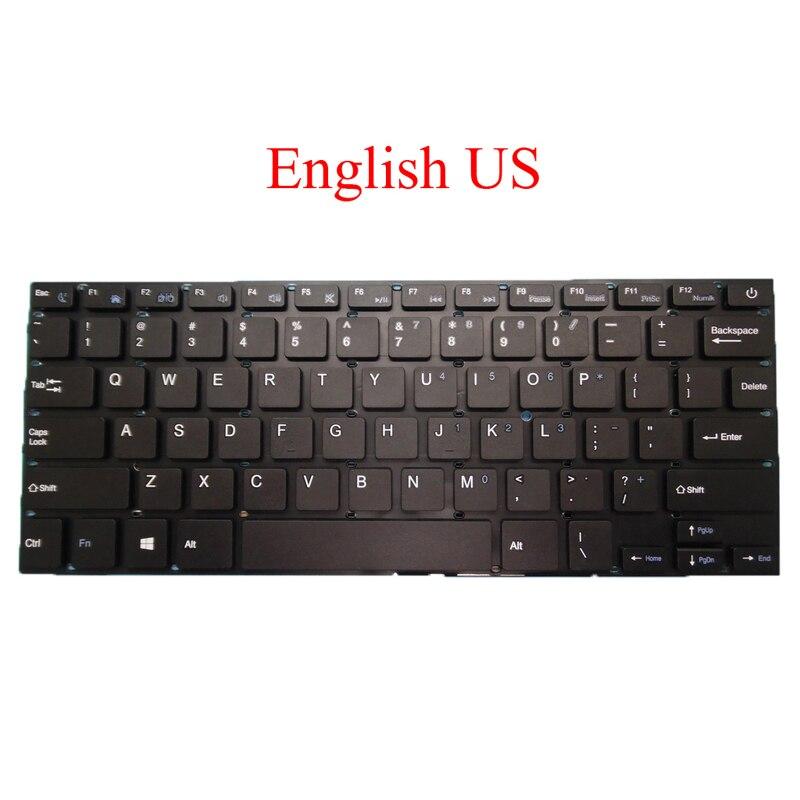 Laptop Keyboard For Irbis NB14 NB41 NB42 NB43 NB44 NB46 NB50 NB61 Russia RU English US Brazilian BR Arabia AR New Original-in Keyboards from Computer & Office    2